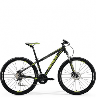 Велосипед Merida Big.Seven 20-D black/green (2018)
