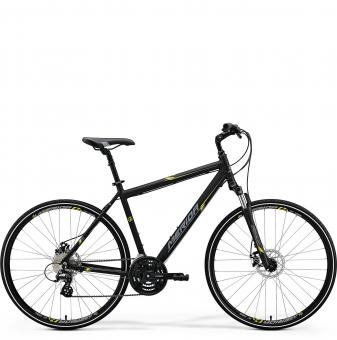 Велосипед Merida Crossway 15-MD black (2018)