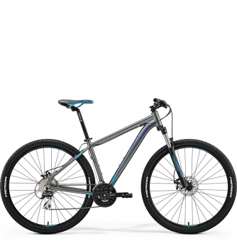 Велосипед Merida Big.Nine 20-MD grey/blue (2018)