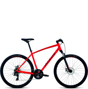 Велосипед Specialized Crosstrail Mechanical Disc (2018) Rocket Red/Limon