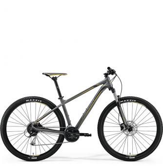 Велосипед Merida Big.Nine 100 grey/yellow (2018)
