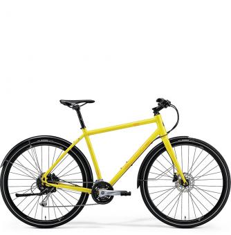 Велосипед Merida Crossway Urban 100 yellow (2018)
