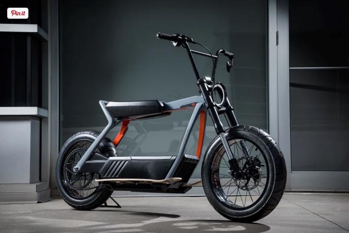 Электро байки от Harley-Davidson