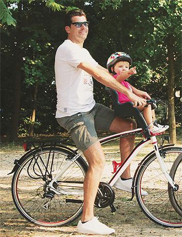Инструкция по эксплуатации велокресла Bellelli с креплением спереди