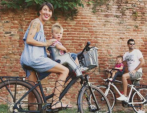 Инструкция по эксплуатации велокресла Bellelli Rabbit с креплением спереди