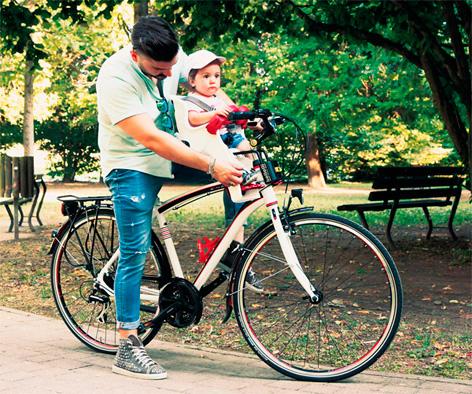 Инструкция по эксплуатации велокресла Bellelli Freccia с креплением спереди