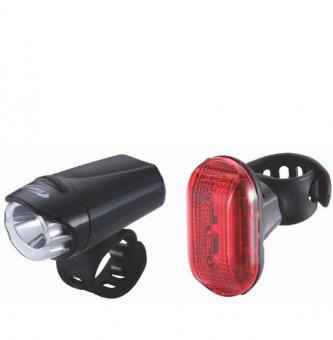 Комплект фонарей BBB Ecocombo Ecobeam Headlight 0.2w,