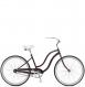 Велосипед Schwinn S1 Woman Purple (2018) 1