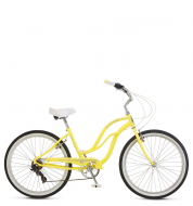 Велосипед Schwinn S7 Women yellow (2018)