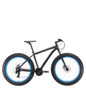 Велосипед Stark Fat 26.2 D black (2018)