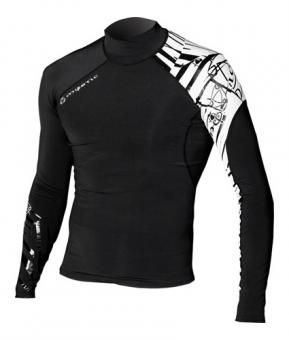 Гидромайка мужская Mystic 2010 Crossfire Lycra Vest L/S