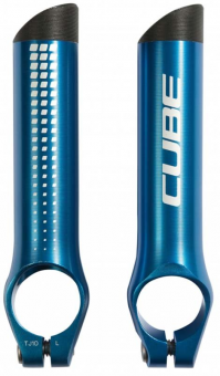 Рога на руль Cube Bar Ends HPA blue 11591