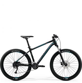 Велосипед Merida Big.Seven 200 (2019) MattBlack/Silver/Blue