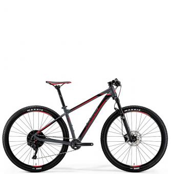Велосипед Merida Big.Nine 600 (2019) MattDarkSilver/Black/Red