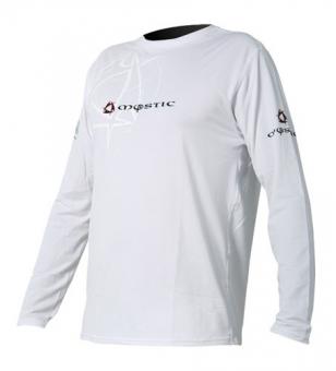 Гидромайка мужская Mystic 2011 Force Quick Dry Shirt L/S White