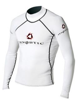 Гидромайка мужская Mystic 2011 Venom Lycra Vest L/S White