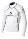 Гидромайка мужская Mystic 2011 Venom Lycra Vest L/S White 1