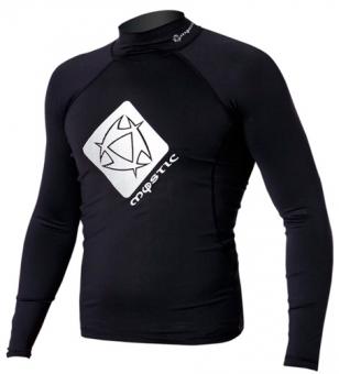 Гидромайка мужская Mystic 2012 Star Rash Vest Men L/S Black
