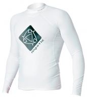 Гидромайка мужская Mystic 2012 Star Rash Vest Men L/S White