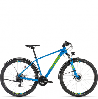 Велосипед Cube Aim Allroad 27.5 (2019) blue´n´green