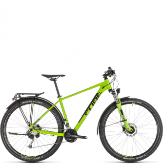 Велосипед Cube Aim SL Allroad 29 (2019) green´n´black