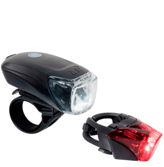 Комплект фонарей Cube RFR Lighting Set TOUR 35 USB black