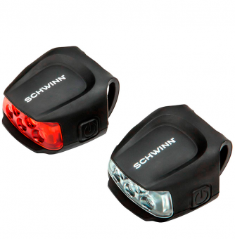 Комплект фонарей Schwinn 26 Lumen Quick Wrap Light Set