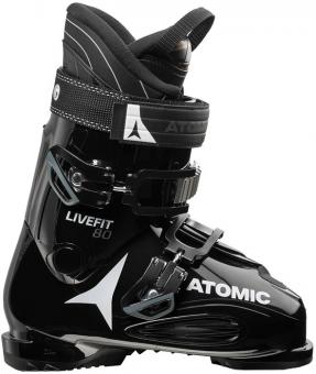 Горнолыжные ботинки Atomic Live Fit 80 black/anthracite (2018)