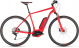 Электровелосипед Cube Cross Hybrid Pro 400 (2019) red´n´grey 1