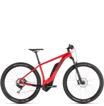 Электровелосипед Cube Reaction Hybrid Race 500 (2019) red´n´red