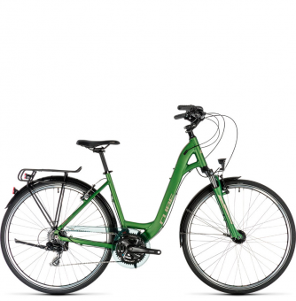 Велосипед Cube Touring Easy Entry (2019) green´n´silver