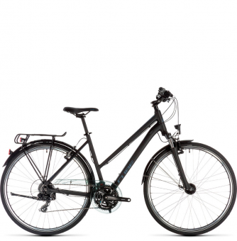 Велосипед Cube Touring Trapeze (2019) black´n´blue