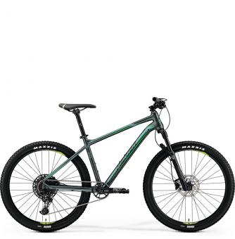 Велосипед Merida Big.Seven 600 (2019) SilkDarkGreen/NeonGreen
