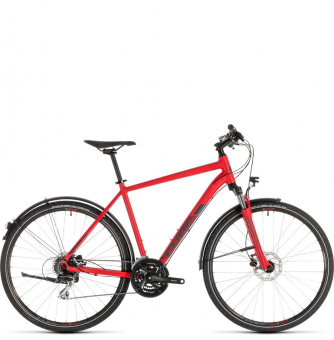Велосипед Cube Nature Allroad (2019) red´n´grey