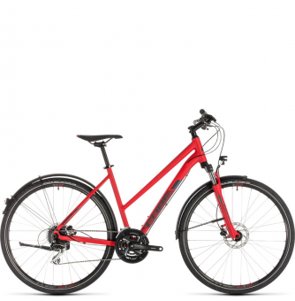 Велосипед Cube Nature Allroad Trapeze (2019) red´n´grey