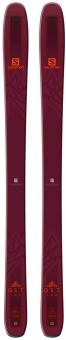 Горные лыжи Salomon N QST 106 bordeaux/orange (2019)