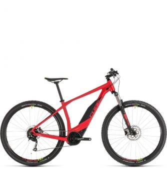 Электровелосипед Cube Acid Hybrid One 400 (2019) red´n´green