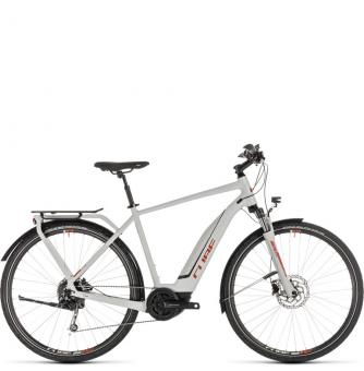 Электровелосипед Cube Touring Hybrid 400 (2019) grey´n´orange