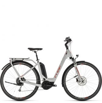 Электровелосипед Cube Touring Hybrid 400 Easy Entry (2019) grey´n´orange