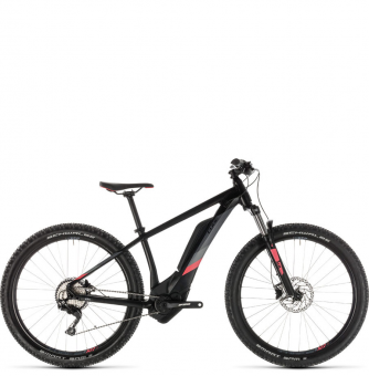 Электровелосипед Cube Access WS Hybrid Pro 400 (2019) black´n´coral