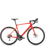 Велосипед Cube Agree C:62 Race Disc (2019) red´n´orange