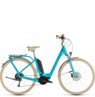 Электровелосипед Cube Elly Ride Hybrid 400 (2019) aqua´n´orange