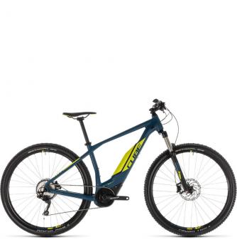 Электровелосипед Cube Acid Hybrid Pro 400 (2019) darkblue´n´lime
