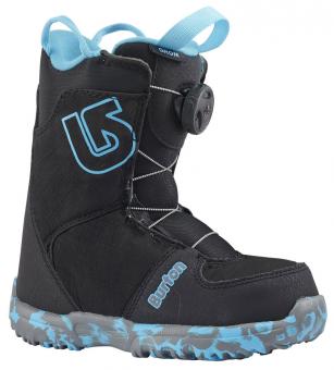 Ботинки для сноуборда Burton Grom Boa black (2019)