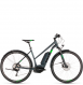 Электровелосипед Cube Cross Hybrid Pro Allroad 400 Trapeze (2019) iridium´n´green 1