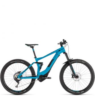 Электровелосипед Cube Stereo Hybrid 140 Pro 500 29 (2019) blue´n´black