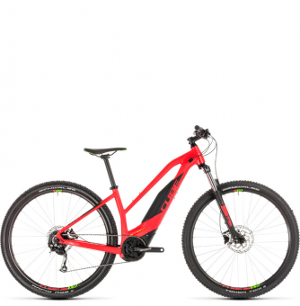 Электровелосипед Cube Acid Hybrid One 500 29 Trapeze (2019) red´n´green