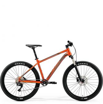Велосипед Merida Big.Seven 400 (2019) GlossyCopper/DarkBrown/Blue