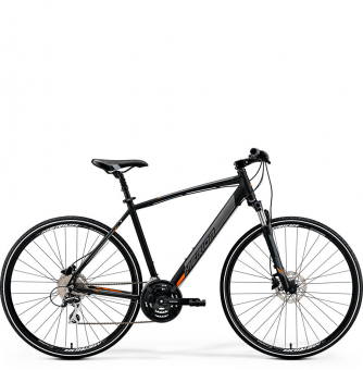 Велосипед Merida Crossway 20-D (2019) MattBlack/Orange