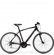 Велосипед Merida Crossway 20-V (2019) MattBlack/Orange